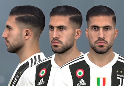 PES 2017 Faces Emre Can by WER Facemaker