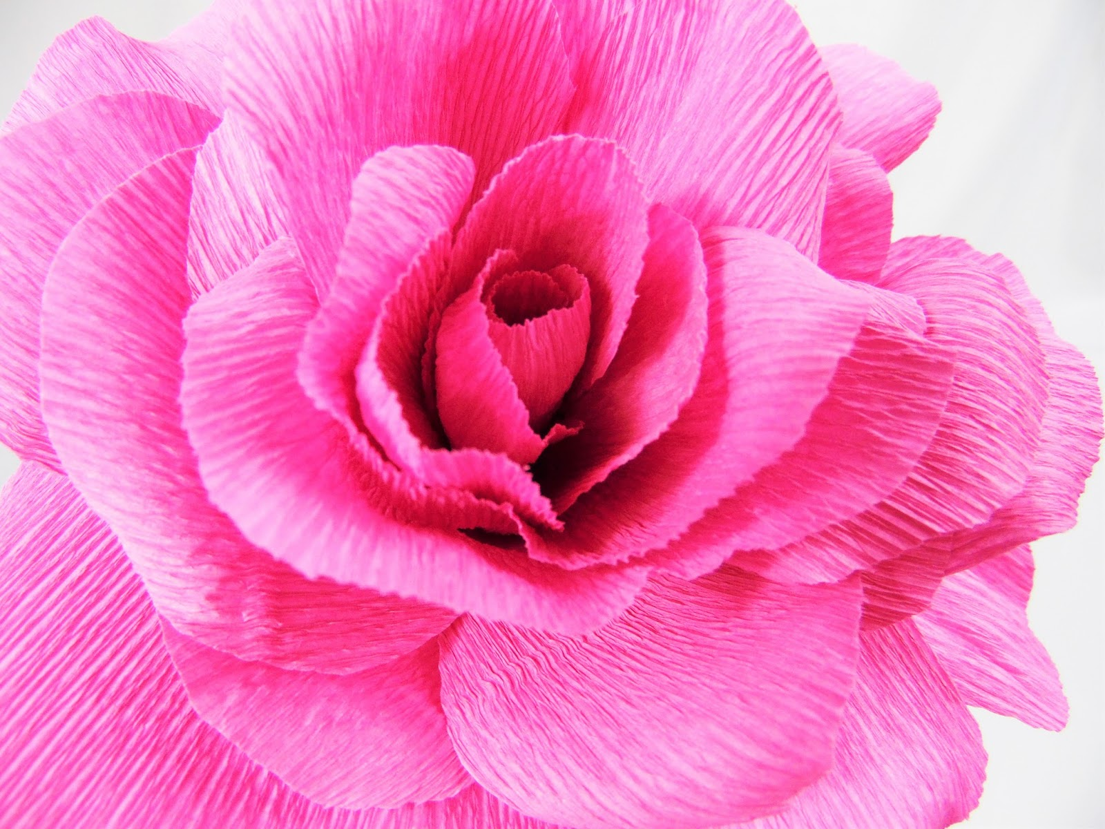 The secret to perfect crepe paper flowers catching colorlfies keep up with all the best kept craft secrets mightylinksfo