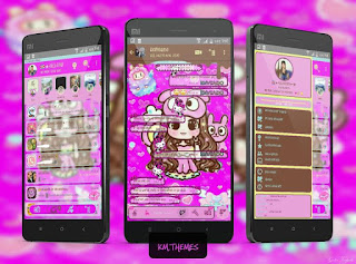 Anime Girl Theme For YOWhatsApp & KM WhatsApp By Ale
