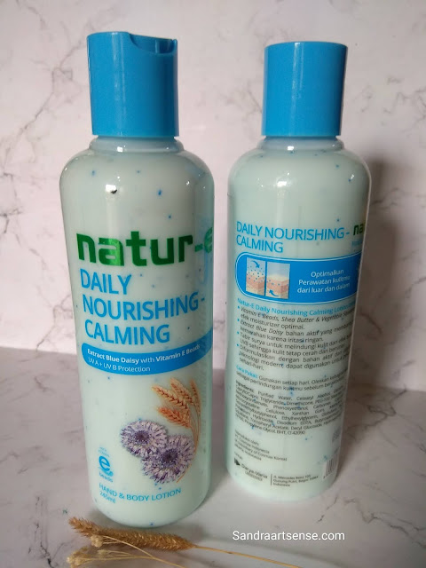Natur-E Hand & Body Lotion Energizing and Calming