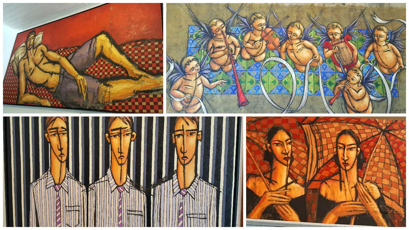 Obras de Aecio Sarti , Paraty,RJ