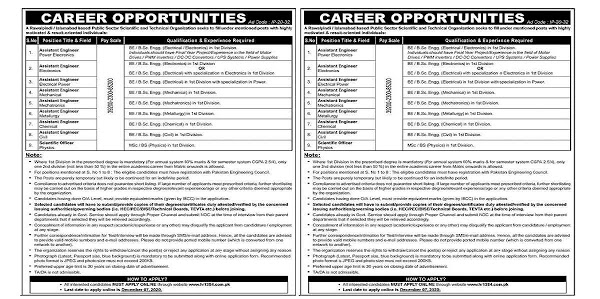 Public Sector Scientific And Technical Organization Jobs 2020 | Paperpkrozee