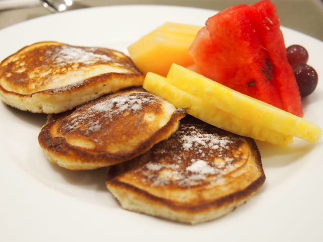 Homemade pancakes, P380. We got the buttermilk pancakes served with ...