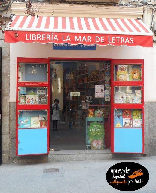 Aprende español callejeando por Madrid: Tela marinera