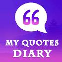 My Quotes Diary App