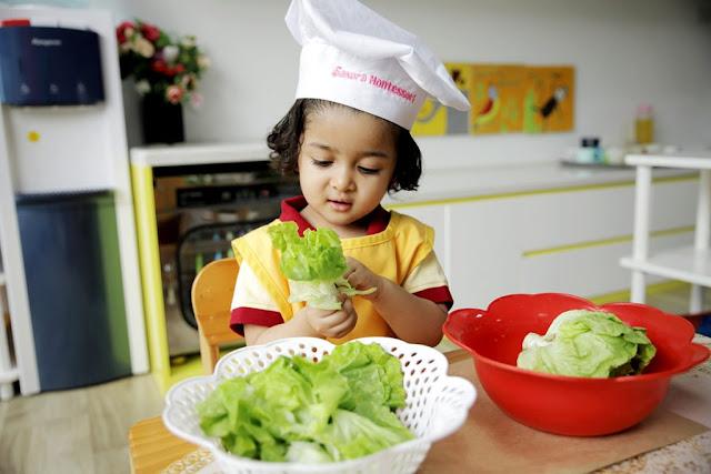 Trẻ em được tập tính tự lập từ sớm