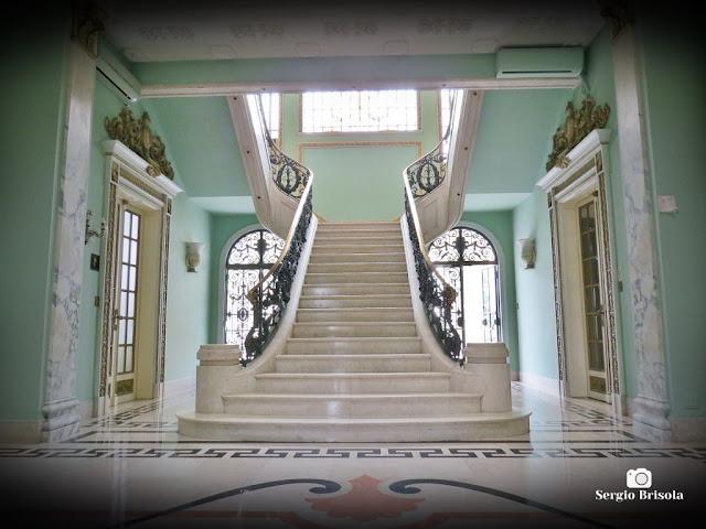 Palacete Violeta (Escadaria central - destaque)