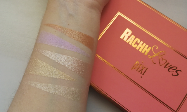 Paleta Glow On Pixi da RachhLoves