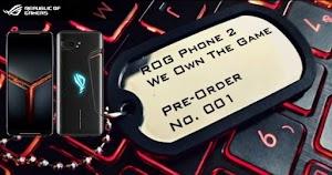 """ROG Phone 2 Masuk Indonesia """" Rela Antri Demi Hapenya Sultan """""""