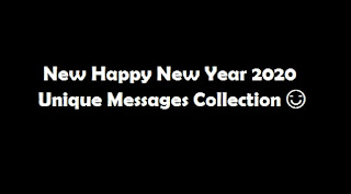 New Happy New Year 2020 Unique Messages Collection