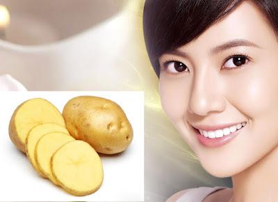 Cách làm mặt nạ khoai tây trị mụn và thâm nám cho da mặt
