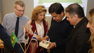Ministro brasileiro está em Israel para conhecer inovações em Educação
