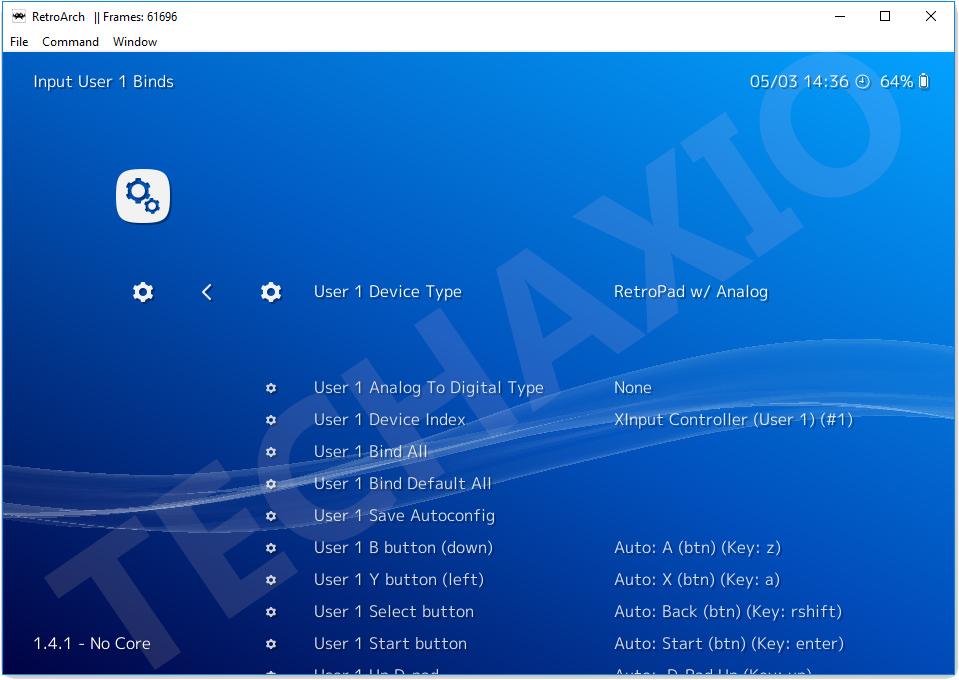 RetroArch Screenshot 5