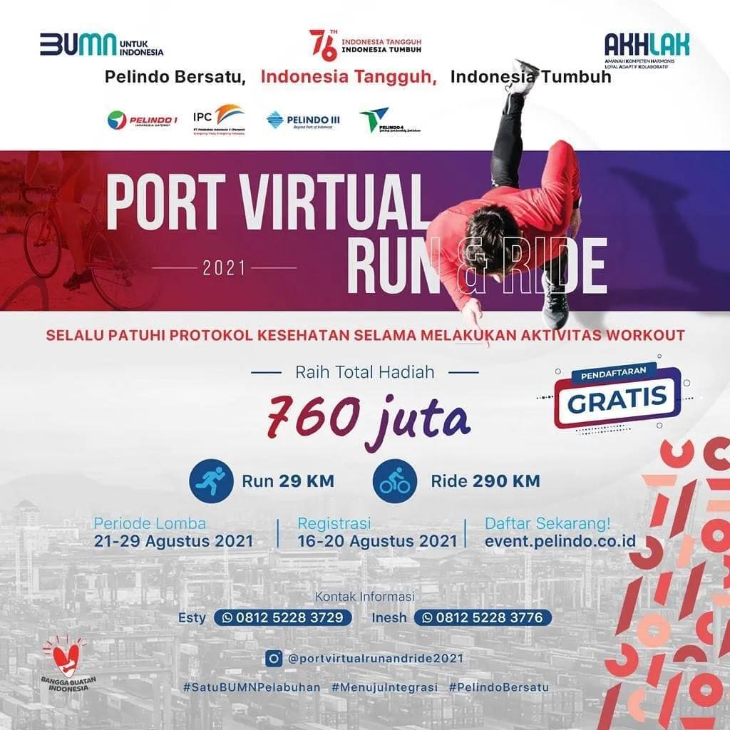 Port Virtual Run and Ride • 2021