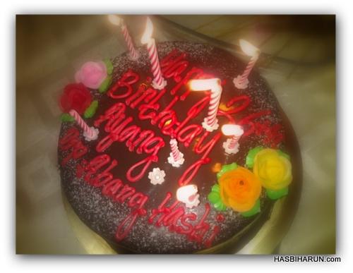 Happy Birthday Adibah Karimah drp Hasbi Premium Beautiful top agents