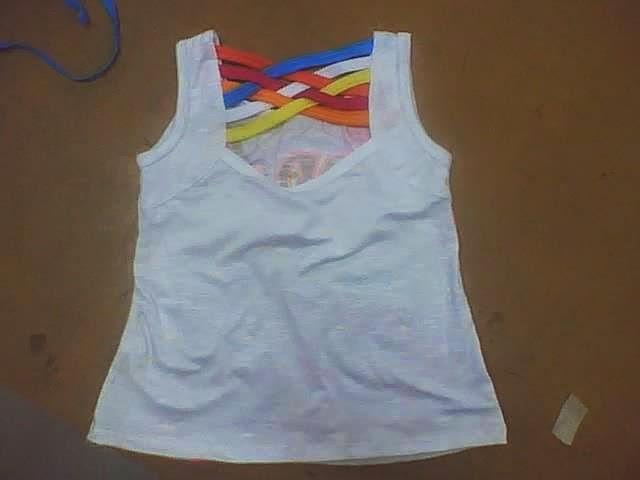 blusa escotada en espalda para niñas