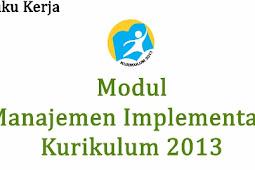 Download Modul Pelatihan Kurikulum 2013 Bagi Pengawas Sekolah Tahun 2018 Jenjang SD SMP SMA SMK