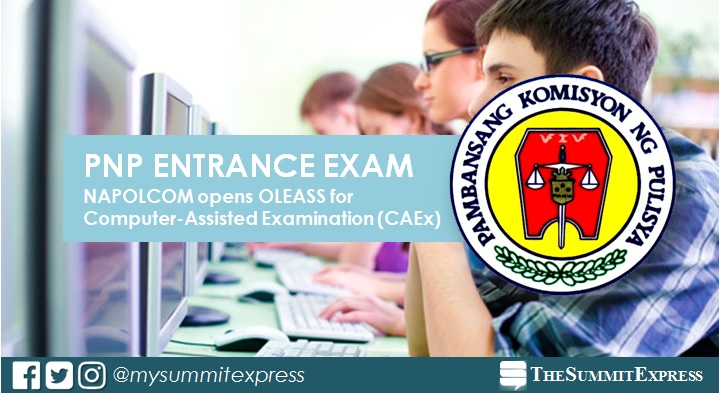 NAPOLCOM CAEx OLEASS online application March 2021