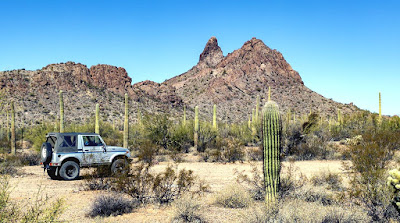 Exploring south/southwest of Ajo, the Ajo Historical Museum and the Mine Pit Overlook
