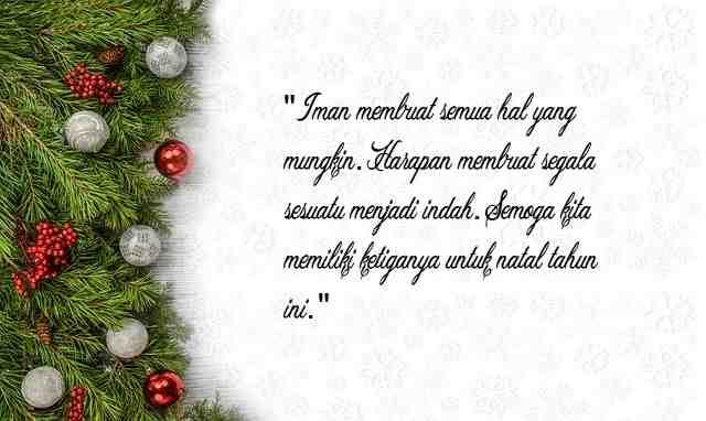 1000 Kata Kata Mutiara Menyambut Hari Natal Terbaik 2019 Yang Indah Jasmani Pedia