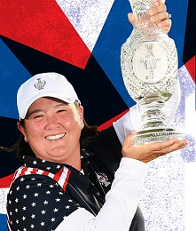 Pat Hurst named 2021 Team USA Solheim Cup captain.
