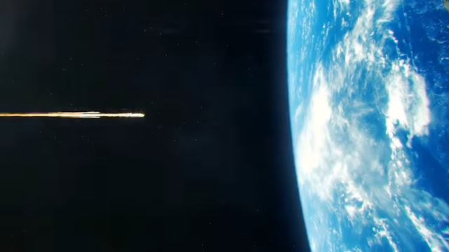 Needle Hits the Earth At the Speed of Light