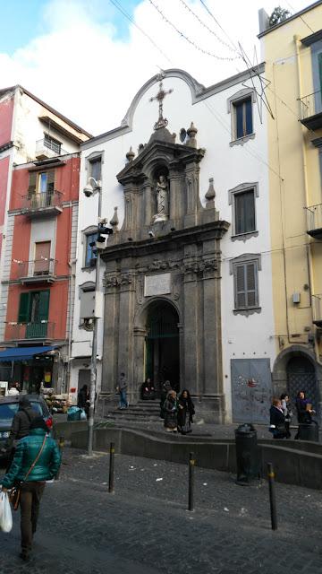 Chiesa di Santa Maria dei Vergini-Quartiere Vergini-Napoli