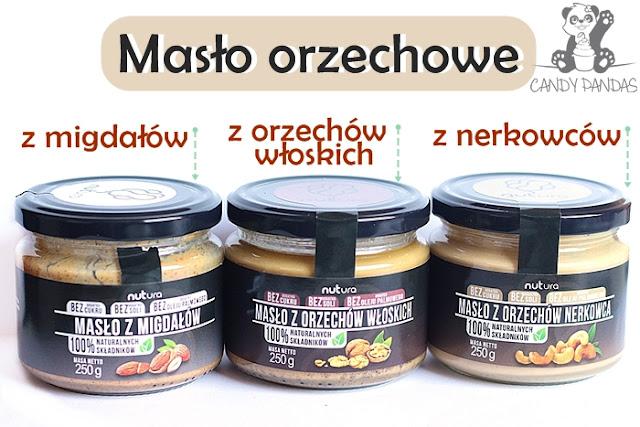 Masło z orzechów włoskich/nerkowców/migdałów - Nutura