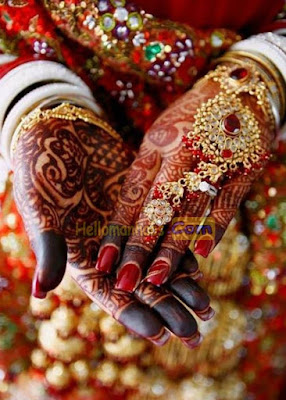 Easy Mehndi Design For Front Hand