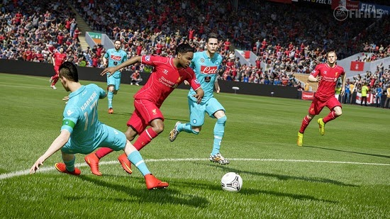 FIFA 2015 Game Play