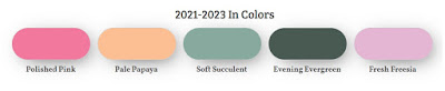 2021-2023 Stampin' Up! In Colors