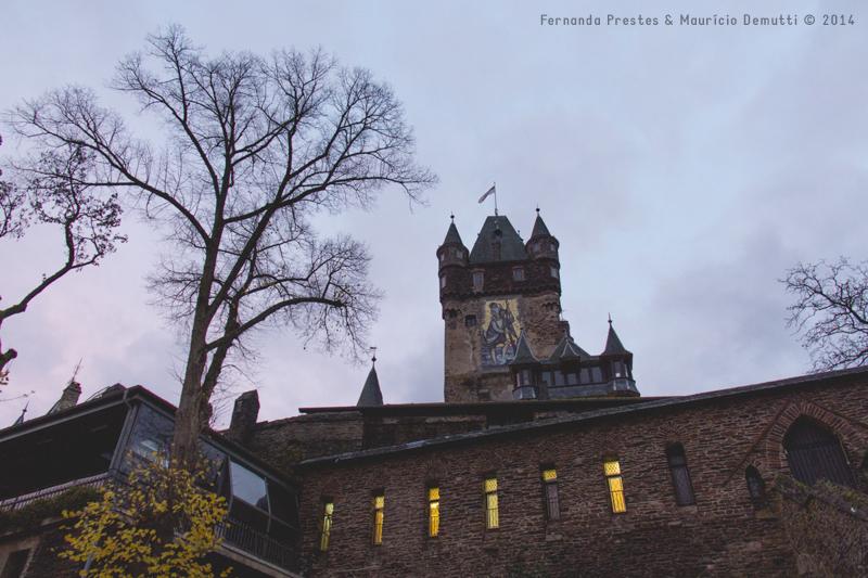 castelo de reichsburg em cochem alemanha