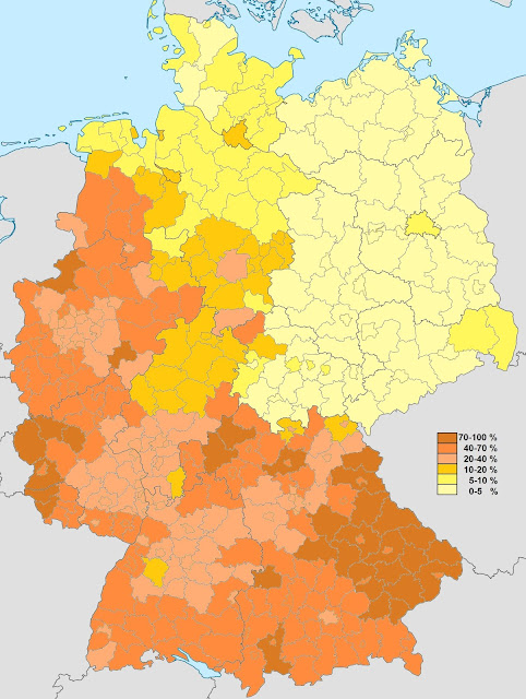 germany distribution catholic population