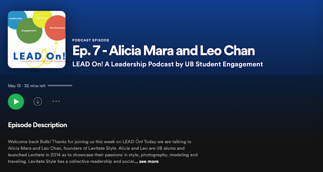 Alicia Mara and Leo Chan Podcast Interview with LEAD ON UB
