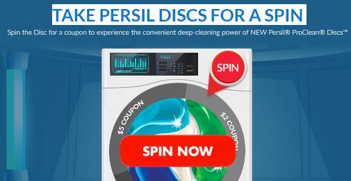 Persil Discs for a Spin Promotion