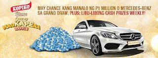 Kopiko Blanca Creamy MagKAPEra Raffle Promo, Philippines promo, contest, raffle