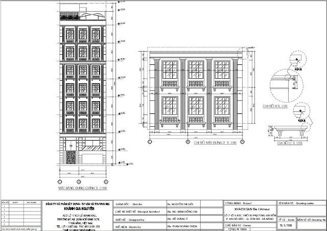 Hồ sơ thiết kế khách sạn De L'Amour