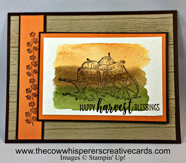 Card, Pleasant Pheasants, Happy Harvest, Thanksgiving, Fall