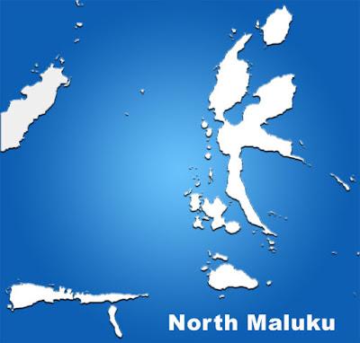 image: North Maluku Blank map