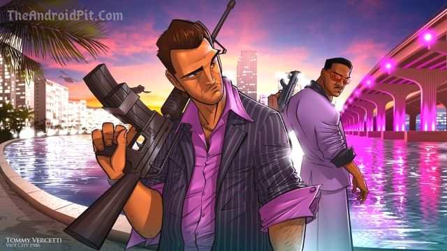 GTA Vice City Android Ultra ENB Modern City Graphics