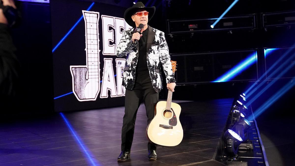 WWE discretamente liberou Jeff Jarrett