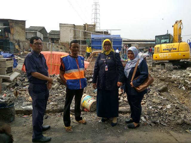 bantuan korban kebakaran dari SMAN 110