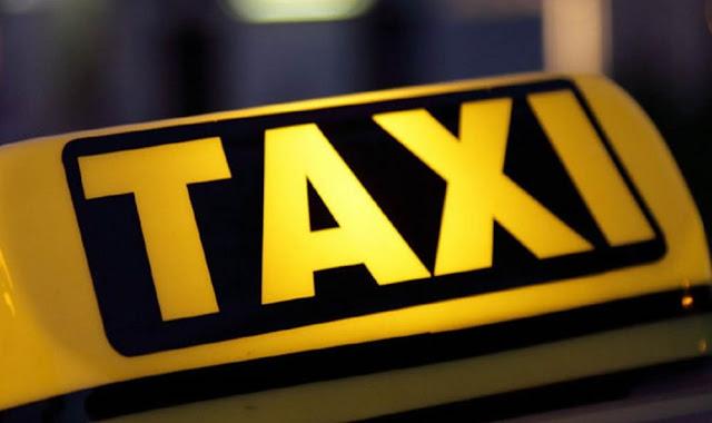 Διανομή υγειονομικού υλικού στους ιδιοκτήτες ταξί από την Περιφέρεια