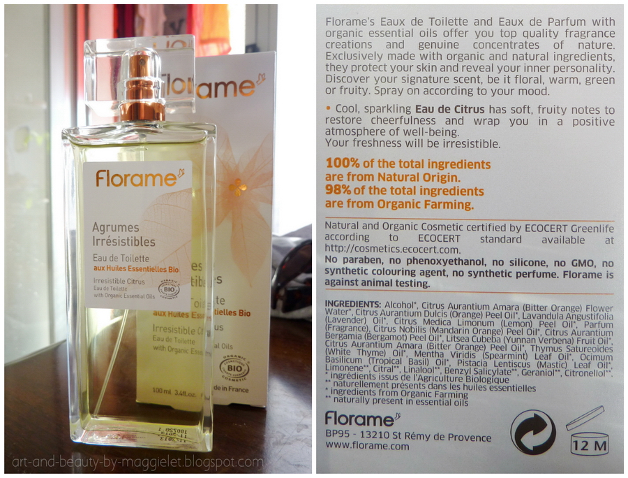 Art And Beauty Through My Eyes Review Florame Perfumes