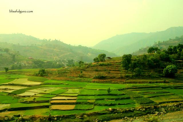 Kathmandu to Pokhara Bus Van Blog