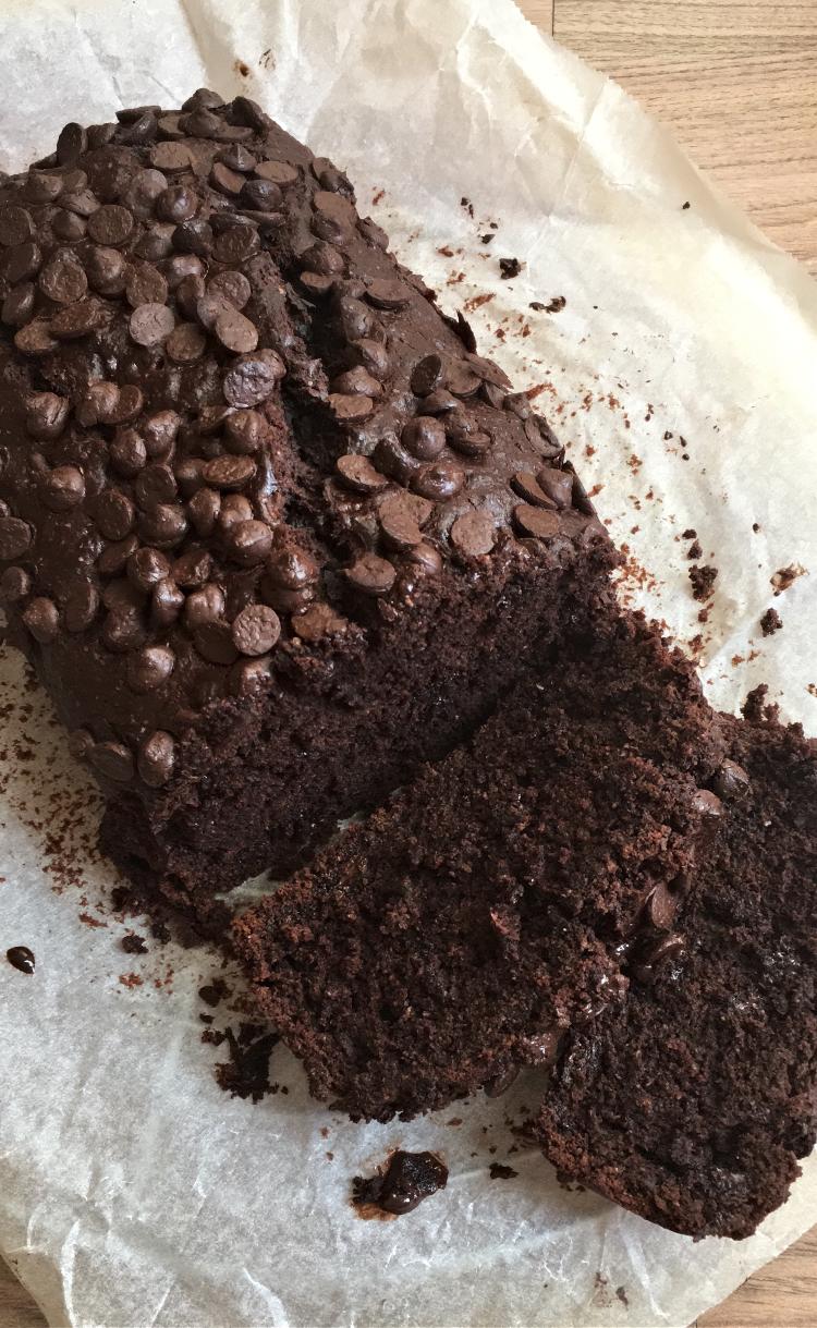 bizcocho-de-platano-chocolate-receta