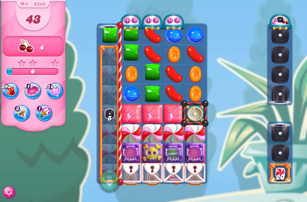 Candy Crush Saga level 9526