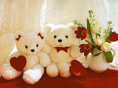 Gambar Wallpaper Boneka Teddy Bear Lucu