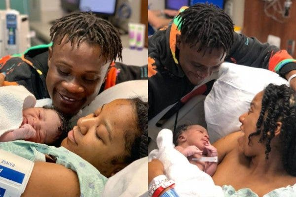 See the Lovely pictures of Singer Dotman as he welcomes a Baby boy