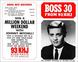 KHJ Boss 30 No. 66 - Johnny Mitchell